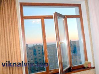 Дерев'яні вікна Львів :: Купити на замовлення
