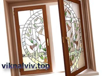 Декор дерев'яних вікон