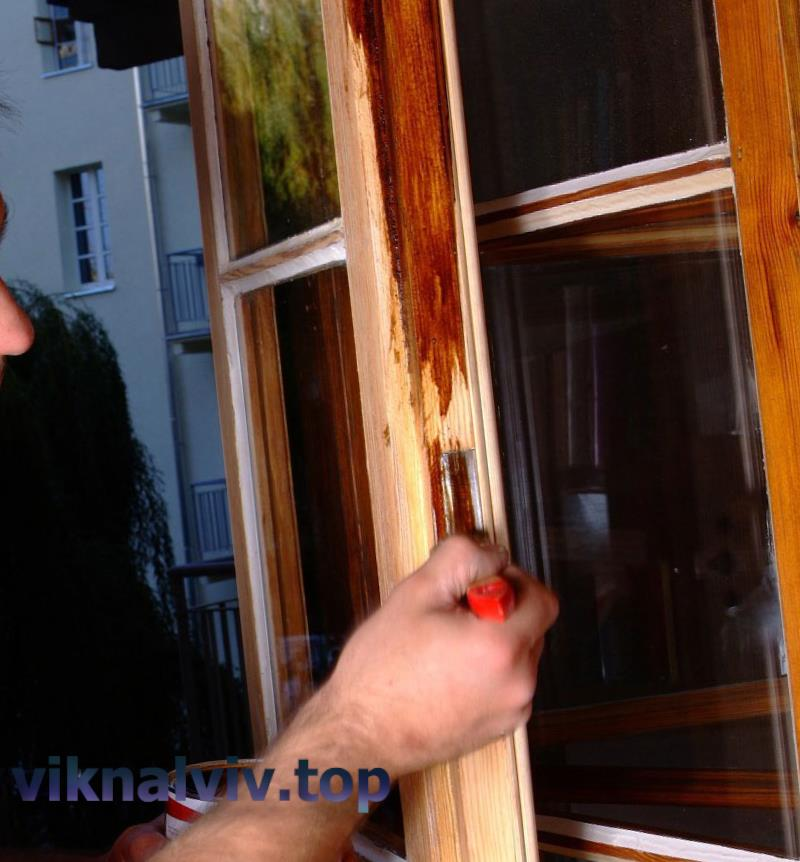 Реставрація старих дерев'яних вікон