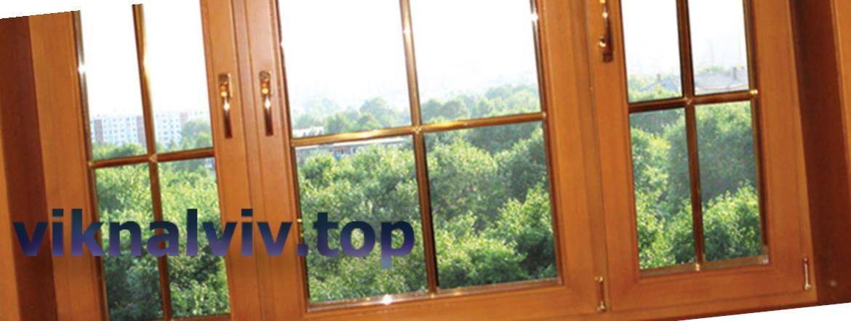 Сучасні дерев'яні вікна