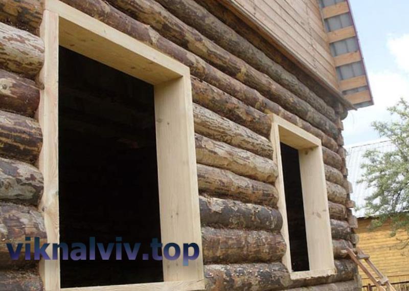 Обсада або окосячка дерев'яних вікон