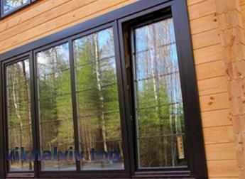 Види дерев'яних вікон