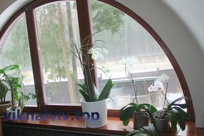 Дерев'яні вікна нестандартної конструкції
