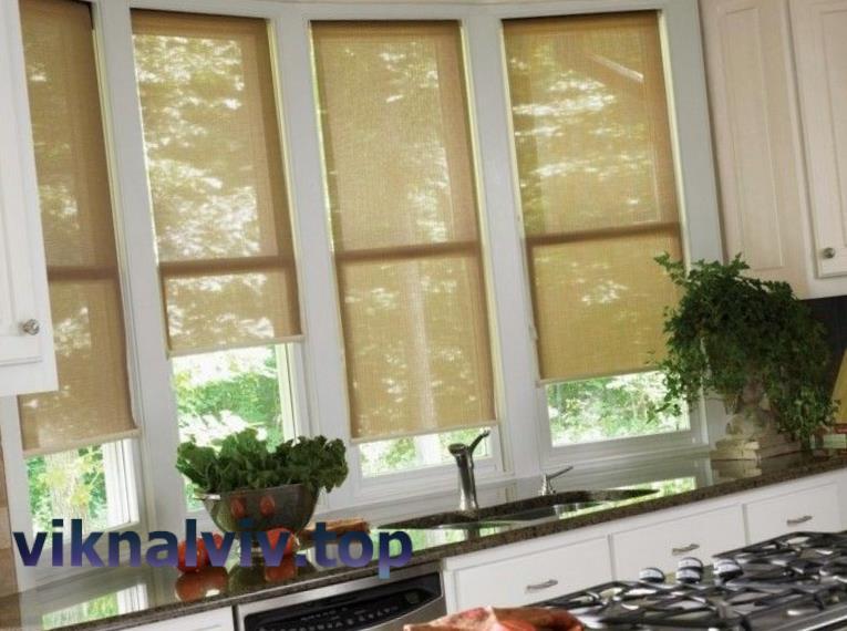 Металопластикові вікна на кухню